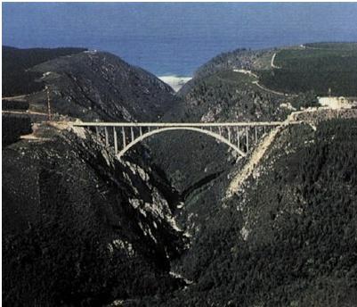 Bloukrans Bridge -Nature's valley, South Africa