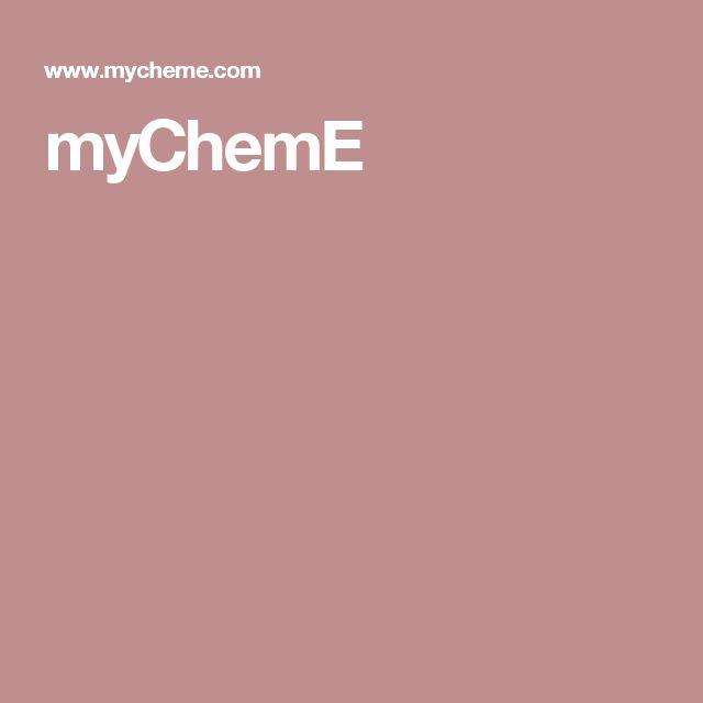 myChemE