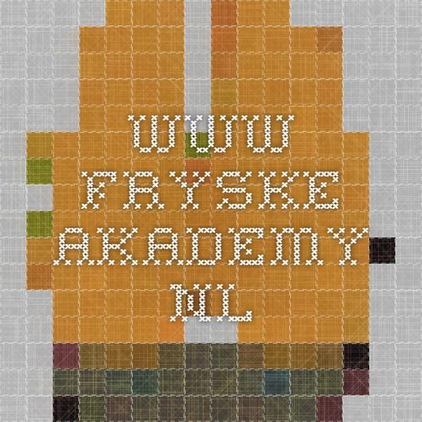www.fryske-akademy.nl Mercador Furlan