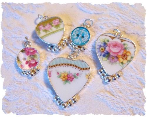 Romantic jewelry and home décor - visit roseblossomcottage.com