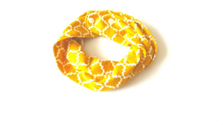 Yellow Quatrefoil  Baby Infinity Scarf - Yellow Toddler Infinity Scarf - Yellow Scarves - Scarves for girls - Scarves for boys by PinkButterflyDesignz on Etsy https://www.etsy.com/ca/listing/505952481/yellow-quatrefoil-baby-infinity-scarf
