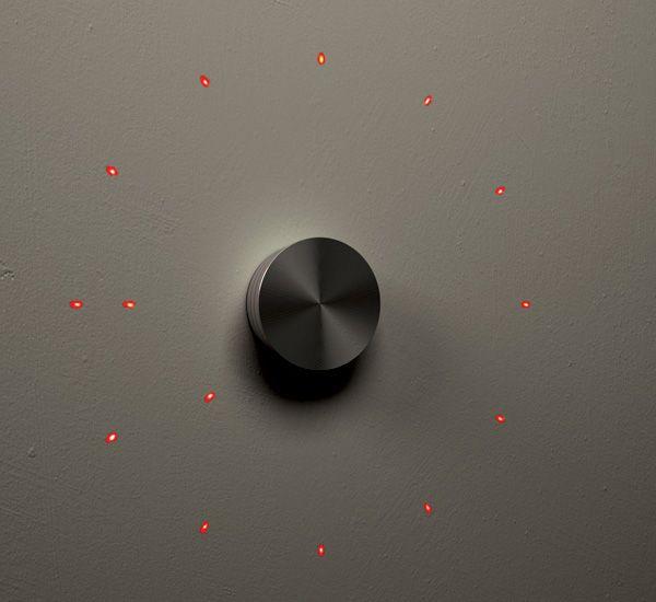 Bullion Wall Clock by Eric Wang