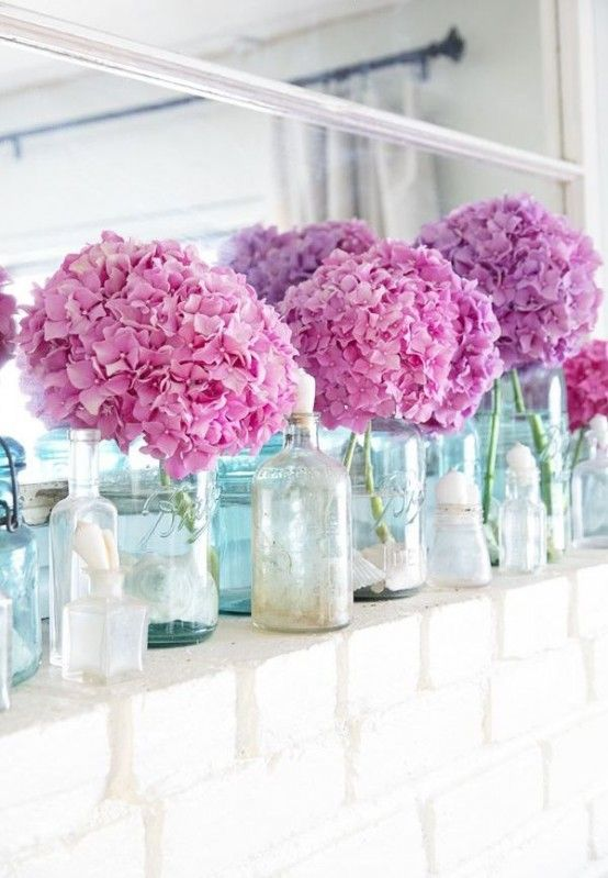 Flowers Are A Great Idea For Summer Decor!