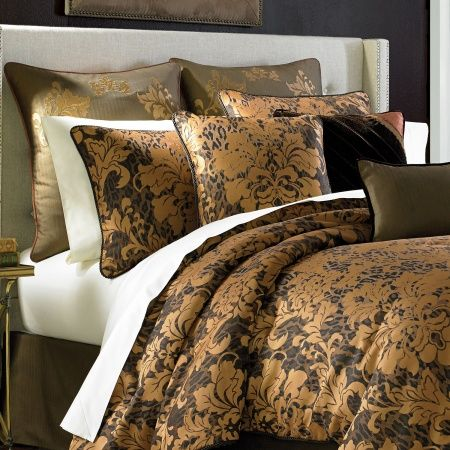 The Monique Comforter Set By Croscill Features A Striking