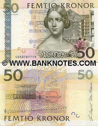 Swedish Banknote