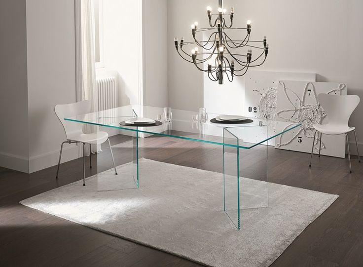 Tavolo in vetro BACCO - T.D. Tonelli Design