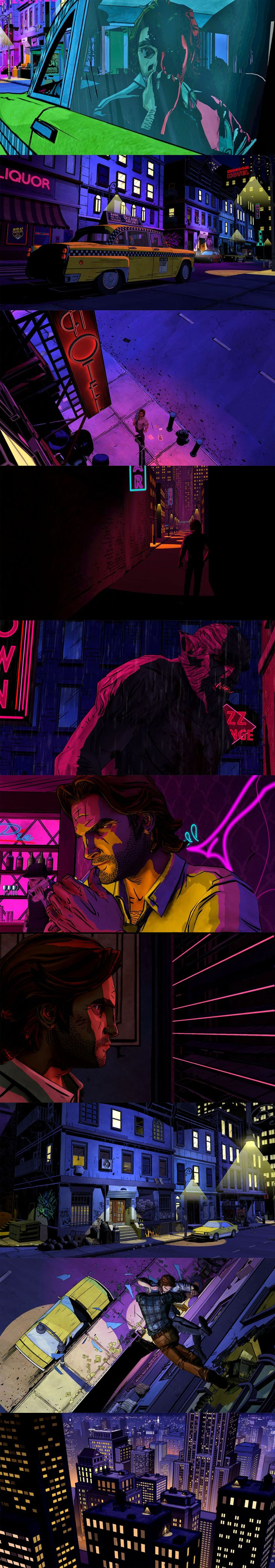 """The Wolf Among Us"" - an episodic graphic adventure video game based on Bill Willingham's comic book series 'Fables'."