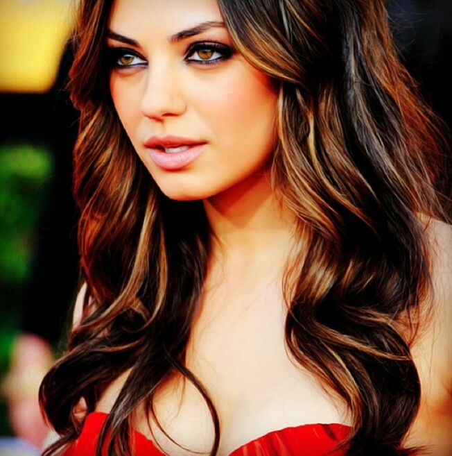 My future hair color! Low lights brunette: Hair Ideas, Hair Colors ...