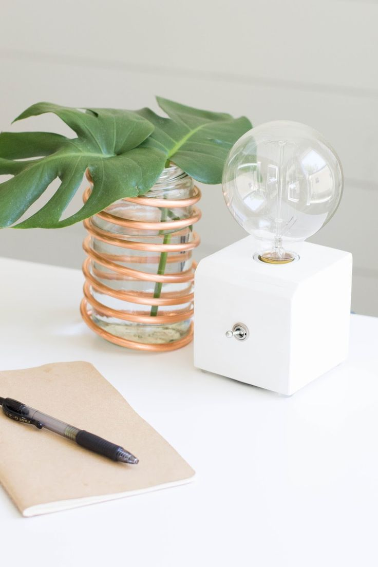 trendy office supplies. always rooney: copper coil vase | diy trendy office supplies s