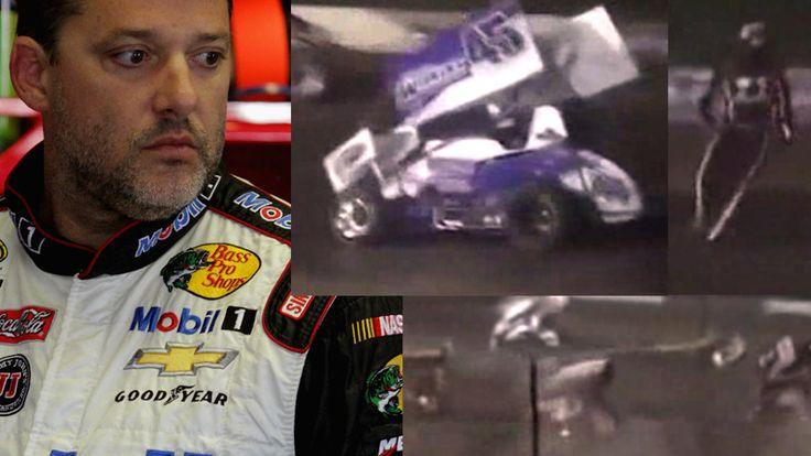 (+VIDEO) Tony Stewart atropelló a otro piloto en una carrera #NASCAR #TonyStewart