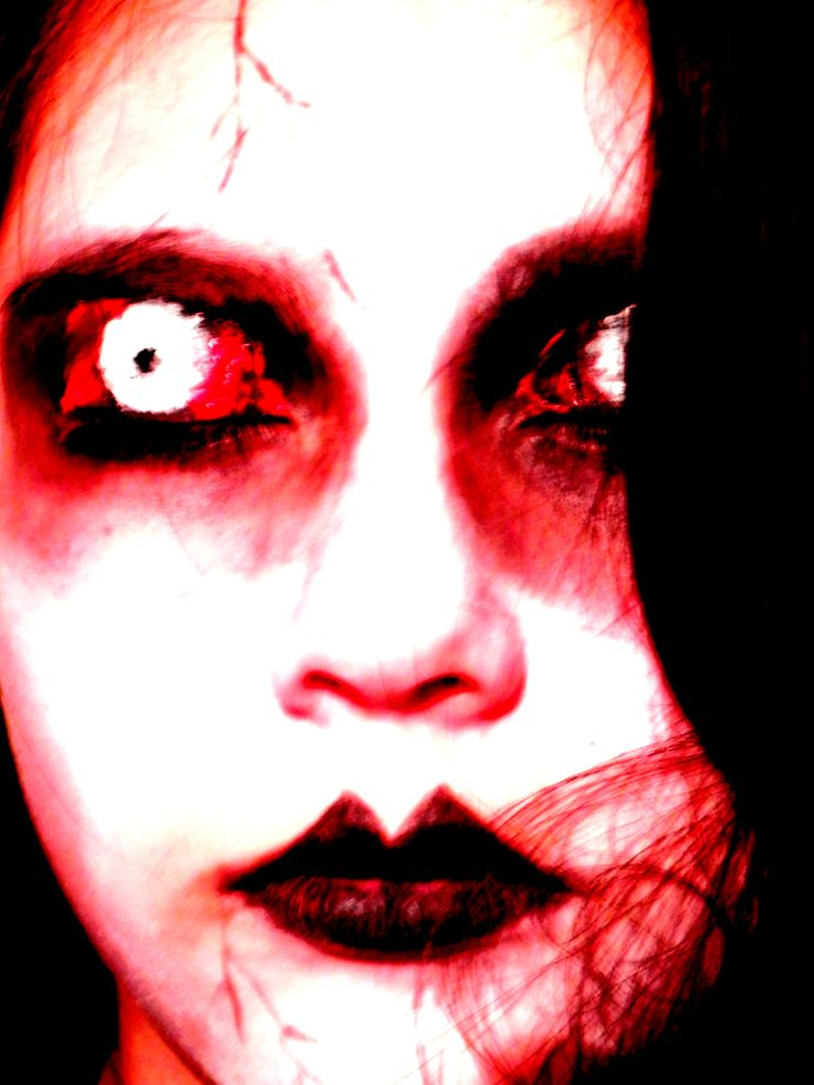 maquillaje zombie dark