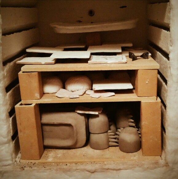 It's time for a #bisque #kiln #ceramics #pottery #workshop #potterystudio #Santarcangelo