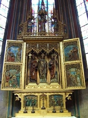 St.+Vitus+Cathedral: St. Vitus Cathedrals A, Travel And Plac, St. Vitus Cathedrals Prague, Cathedrals Awesome, Awesome Pin, Altars, Place, Thanksst Vitus Cathedrals, Art St.