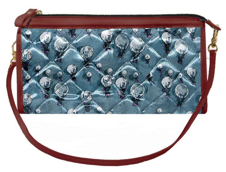 Crystal Clutch Powder Blue and Onion .  www.federicalunello.com  #federicalunello #bags #accessories #handmade #madeinitaly