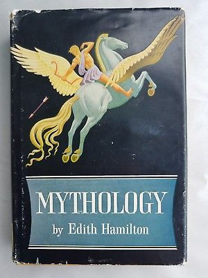 Mythology By Edith Hamilton Illustrated  1942