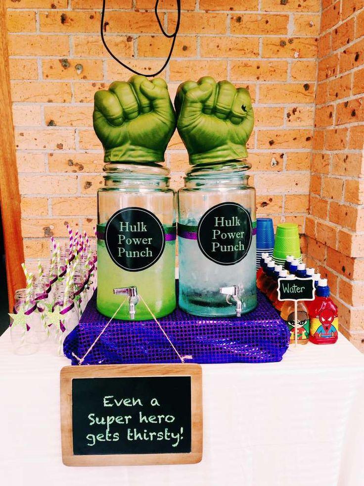 Superhero Birthday Party Ideas | Photo 23 of 42 | Catch My Party