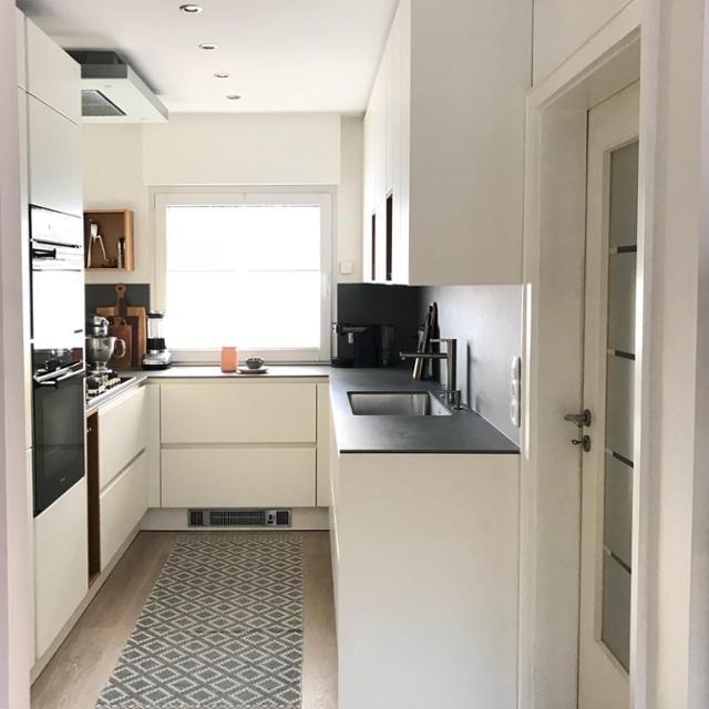 Unsere Küche: klein aber fein #kleineküche in 2019 | arq. | Kleine ...