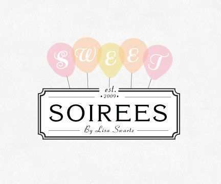 Sweet Logo - PaperFawn Studio via Etsy