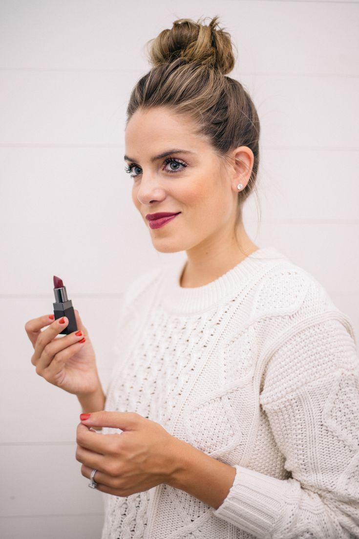 "Gal Meets Glam Fall Beauty Colors - Laura Mercier Lipstick in ""Boudoir"