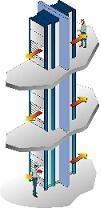 Благодаря компактным размерам подобную автоматизированную систему складирования лифтового типа можно устанавливать в любом помещении, непосредственно  в производственной зоне, а не только на складе инструмента, запасных частей, на складе лекарств или любых других товаров и грузов. При этом окна доступа можно сделать на любом этаже.
