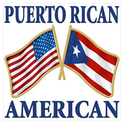 Puerto Rican-white people dont have flags, lol! So this will work!