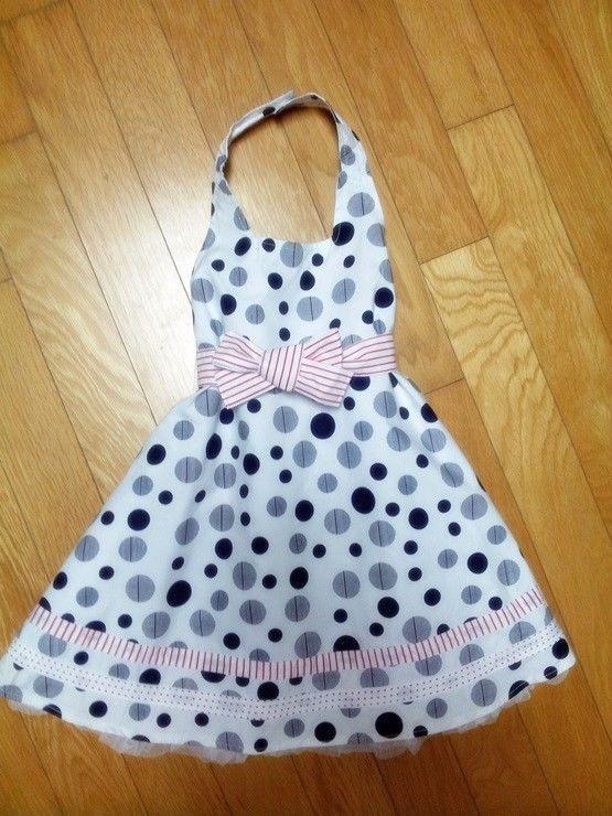 ZARA KIDS BABY GIRLS POLKA DOT LACE HALTER DRESS COTTON SKIRT (NEWBORN) 2-5 mth #ZARABABY #DressyPageantWedding