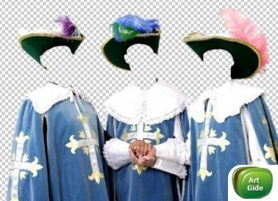 Костюм для фотошопа три мушкетера