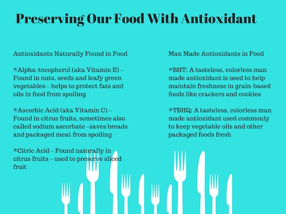 ConAgra Foods Explains How They Preserve Our Food With Antioxidant #AntioxidantFacts #ad