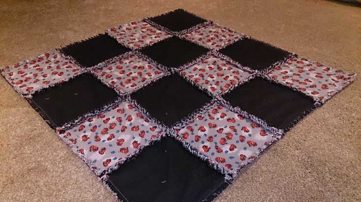 Website for handmade demin and Flannel Baby Quilts