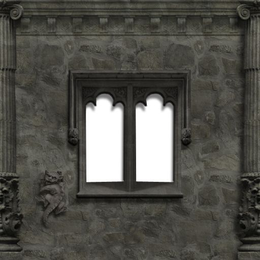 GOTHIC WALL WINDOW TEXTURE