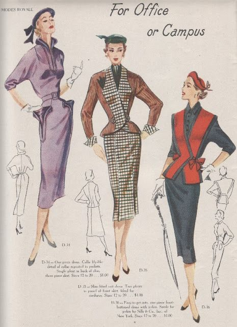 Modes Royale 1951/52