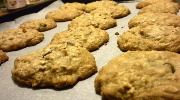 Oatmeal Cookies without butter