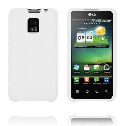 TPU Shell (Hvid) LG Optimus 2X Cover