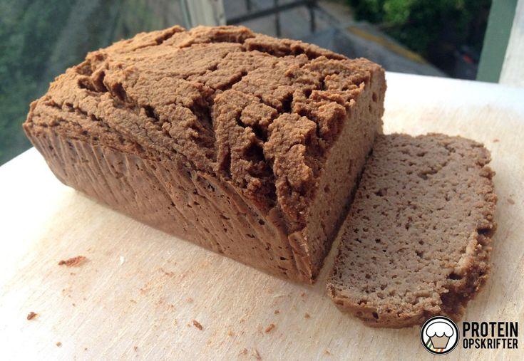 Proteinbrød - tror det vil virke med lidt hurtige kh ved siden af