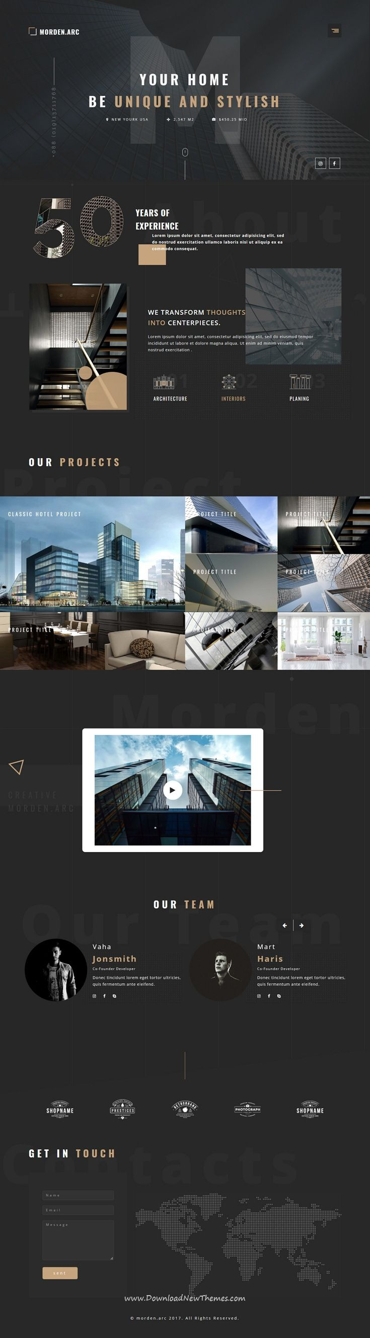 Comfortable Hotel Website Templates Ideas - Examples Professional ...