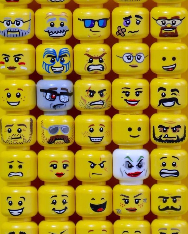 Картинки лица лего