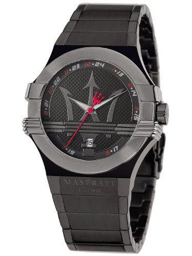 #Maserati – R8853108003 – #Montre Homme – Quartz Analogique – Bracelet Acier Inoxydable Noir