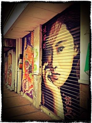Mural at Braga Bandung