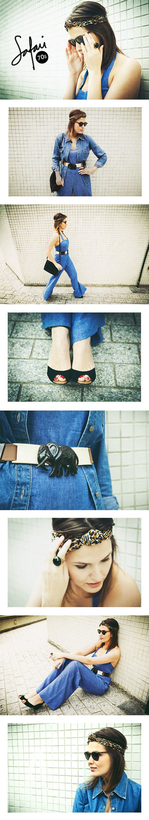 Achados da Bia | A minha moda | Safari 70s