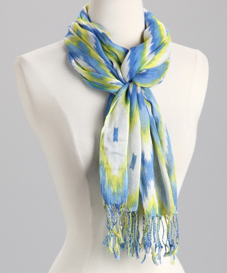 need to learn how to tie a scarf like this