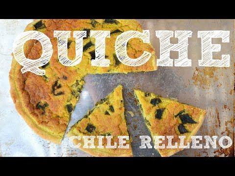 Chile Relleno Quiche from the vegan cookbook Aquafaba by Zsu Dever