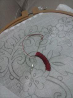 confección de mi pollera montuna santeña, hecha por mi