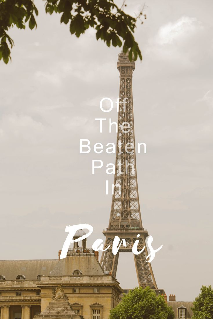 Paris, you stunner! Bursting with romance, berets, history and art, this city has a lot to offer. Besides the famous landmarks such as L�tour Eiffel or Mus�e du Louvre, which are featured in every guidebook, the best way to truly experience a city is get