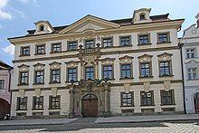 biskubská rezidence v Hradci Králové / Santini