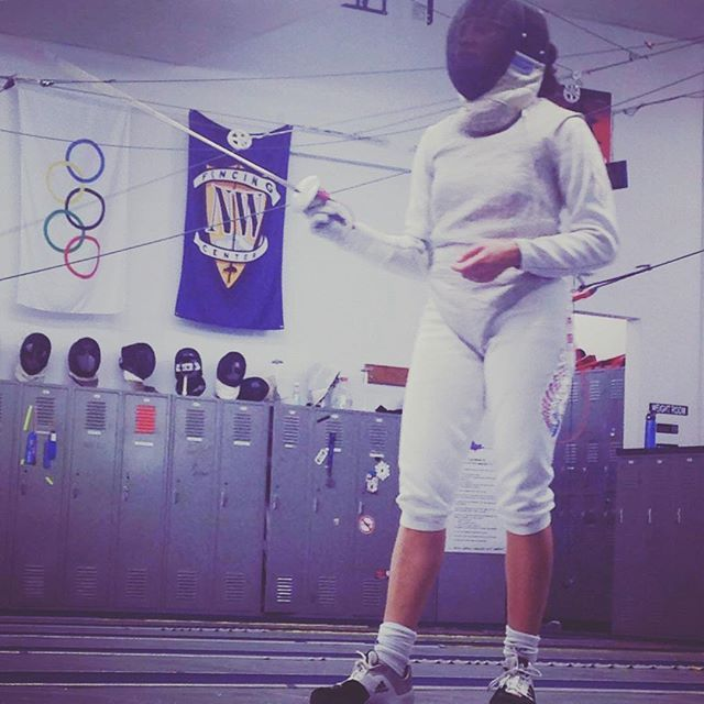 @nwfencing  pilar alicea left portland today, she's heading to costa rica hoping to qualify for the rio olympics!  #nwfc #fencing #rio2016 #olympics #rio2016olympics #riobound #puertorico