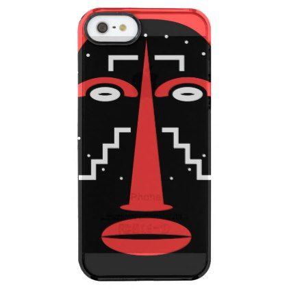Ligbi Mask Clear iPhone SE/5/5s Case - unusual diy cyo customize special gift idea