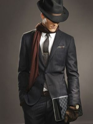 秋冬のスーツに似合うフェルトハット メンズ帽子コレクション日記