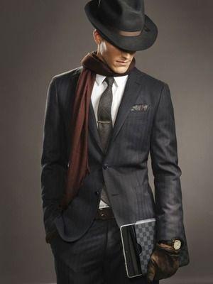 秋冬のスーツに似合うフェルトハット|メンズ帽子コレクション日記
