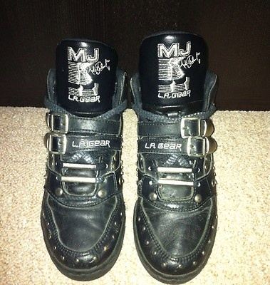 I loved my Michael Jackson shoes! lol