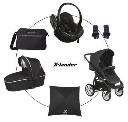 X-lander kombinovaný kočík X-Move 2015 set XX